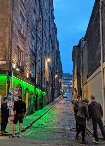 Niddry Street opposite the Caves, Edinburgh