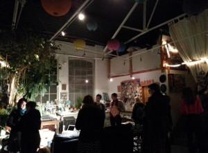 Inside David Shillinglaw's High Barnet Loft Studio