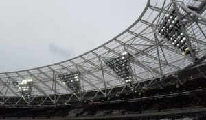 The Famous Floodlights Turned Upside Down